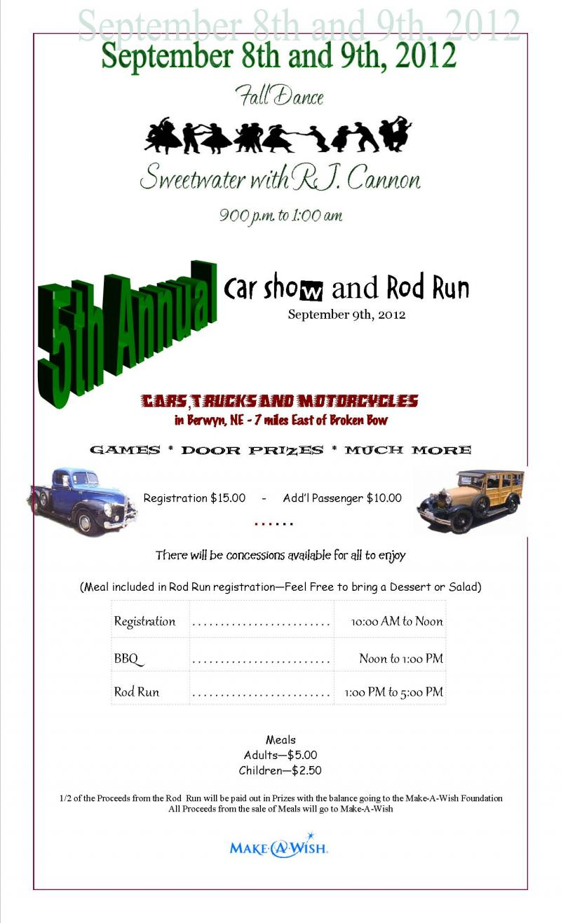 5th Annual Car Show & Rod Run
